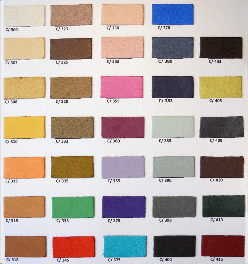 Carta Color Artículo Cabra Natur Copell