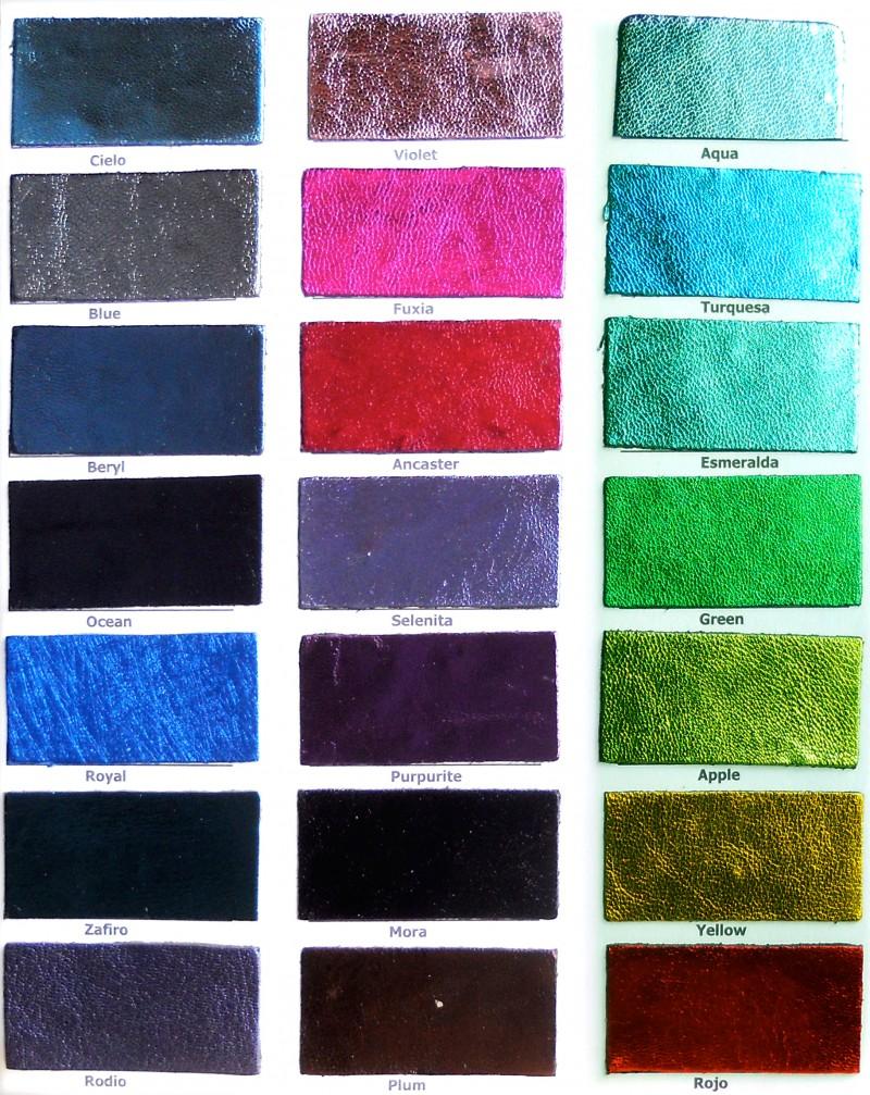 Carta Color Artículo Laminados 2 Copell