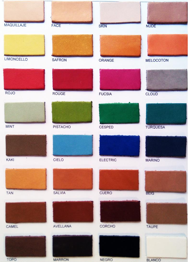 Carta color Artículo Faldas Vaqueta Verano 2018 Copell