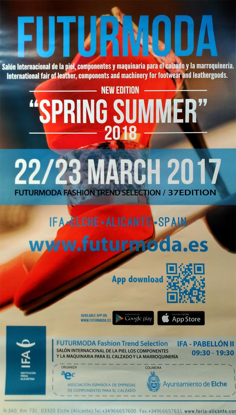 Cartel Futurmoda Primavera Verano 2018