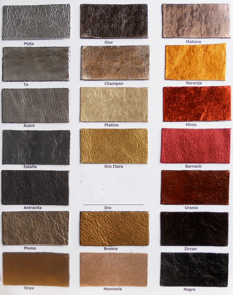 Carta Color Artículo Laminados 1 Copell